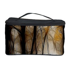 Fall Forest Artistic Background Cosmetic Storage Case