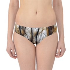 Fall Forest Artistic Background Hipster Bikini Bottoms