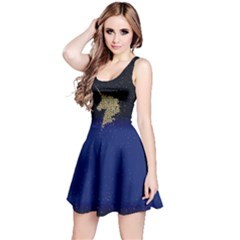 Golden Unicorn Reversible Sleeveless Dress