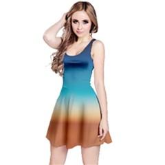 Desert Gradient Tie Dye Sleeveless Dress
