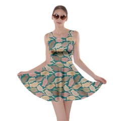 Dark Mint Finger Skater Dress