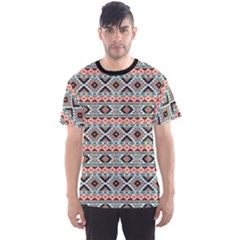 Colorful Colorful Navajo Pattern Men s Sport Mesh Tee