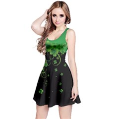 Shamrock Style Reversible Sleeveless Dress
