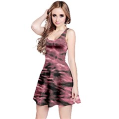 Red Tie Dye 2 Sleeveless Dress