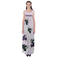 Zantedeschia Empire Waist Maxi Dress