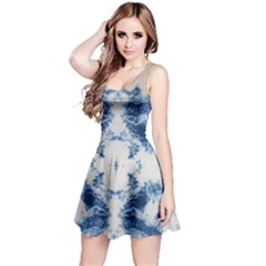 Jean Like Tie Dye Sleeveless Dress