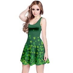 Shamrock Green Fall Reversible Sleeveless Dress