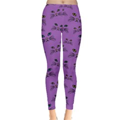 Purple Cat Leggings