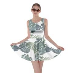 Palm Tree Skater Dress