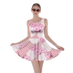 Pink Blossom Skater Dress
