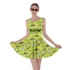 Frizzle Weather Skater Dress