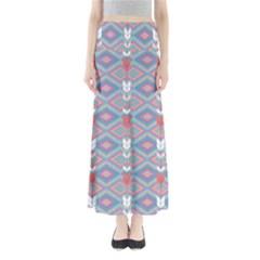 Blue Arrow Maxi Skirt