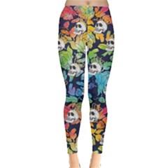Skull Rainbow Leggings