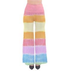 Rainbow Tie Dye Palazzo Pants