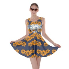 Orange Hawaii 2 Skater Dress
