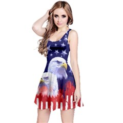 Us Eagle Navy Reversible Sleeveless Dress