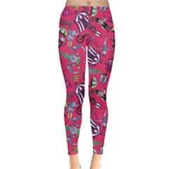 Hot Pink Circus Leggings