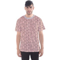Gray Pattern Design With Funny Pigs Men s Sport Mesh Tee