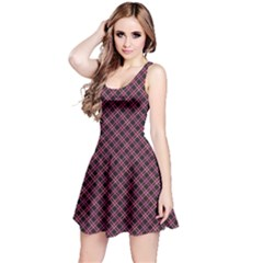 Pink Pattern Wiith Abstract Ornament Reversible Sleeveless Dress