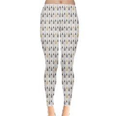 Colorful Hand Drawn Style Arrows Pattern Vintage Abstract Leggings
