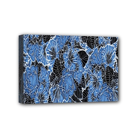 Floral Pattern Background Seamless Mini Canvas 6  X 4