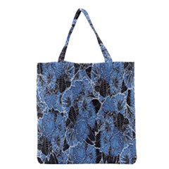 Floral Pattern Background Seamless Grocery Tote Bag