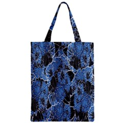 Floral Pattern Background Seamless Zipper Classic Tote Bag