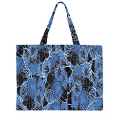 Floral Pattern Background Seamless Large Tote Bag