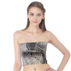 Floral Pattern Background Tube Top