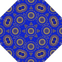 Abstract Mandala Seamless Pattern Hook Handle Umbrellas (Small)