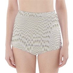 Coral X Ray Rendering Hinges Structure Kinematics High Waisted Bikini Bottoms