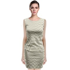 Coral X Ray Rendering Hinges Structure Kinematics Classic Sleeveless Midi Dress