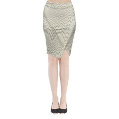 Coral X Ray Rendering Hinges Structure Kinematics Midi Wrap Pencil Skirt