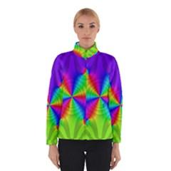 Complex Beauties Color Line Tie Purple Green Light Winterwear