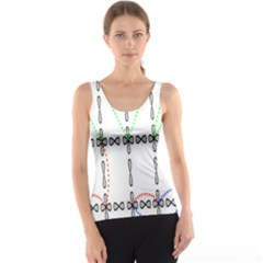 Formula Line Hubbard Model Applied Exist Tank Top