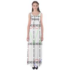 Formula Line Hubbard Model Applied Exist Empire Waist Maxi Dress