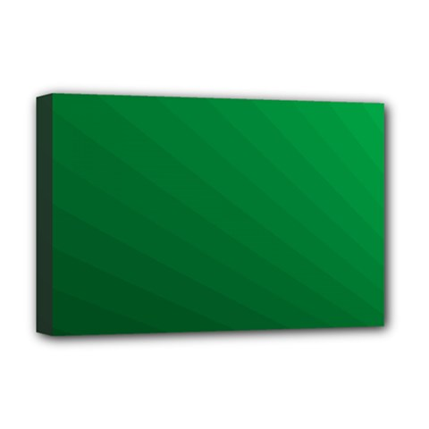 Green Beach Fractal Backdrop Background Deluxe Canvas 18  X 12