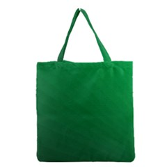 Green Beach Fractal Backdrop Background Grocery Tote Bag