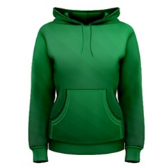 Green Beach Fractal Backdrop Background Women s Pullover Hoodie