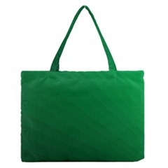 Green Beach Fractal Backdrop Background Medium Zipper Tote Bag