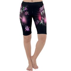 Colour Of Nature Fractal A Nice Fractal Coloured Garden Cropped Leggings