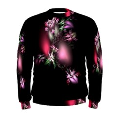 Colour Of Nature Fractal A Nice Fractal Coloured Garden Men s Sweatshirt