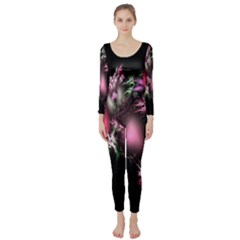 Colour Of Nature Fractal A Nice Fractal Coloured Garden Long Sleeve Catsuit