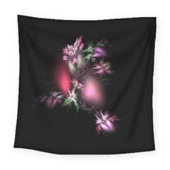 Colour Of Nature Fractal A Nice Fractal Coloured Garden Square Tapestry (large)