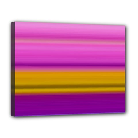 Stripes Colorful Background Colorful Pink Red Purple Green Yellow Striped Wallpaper Canvas 14  X 11