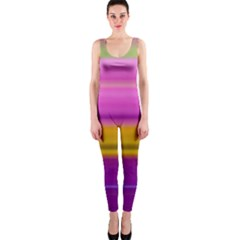 Stripes Colorful Background Colorful Pink Red Purple Green Yellow Striped Wallpaper Onepiece Catsuit