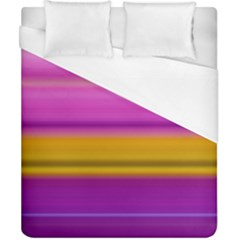 Stripes Colorful Background Colorful Pink Red Purple Green Yellow Striped Wallpaper Duvet Cover (california King Size)