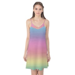 Watercolor Paper Rainbow Colors Camis Nightgown