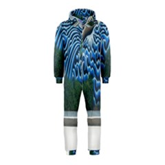 Mural Wall Located Street Georgia Usa Hooded Jumpsuit (kids)