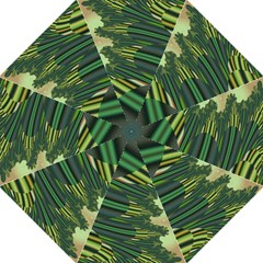 A Feathery Sort Of Green Image Shades Of Green And Cream Fractal Folding Umbrellas